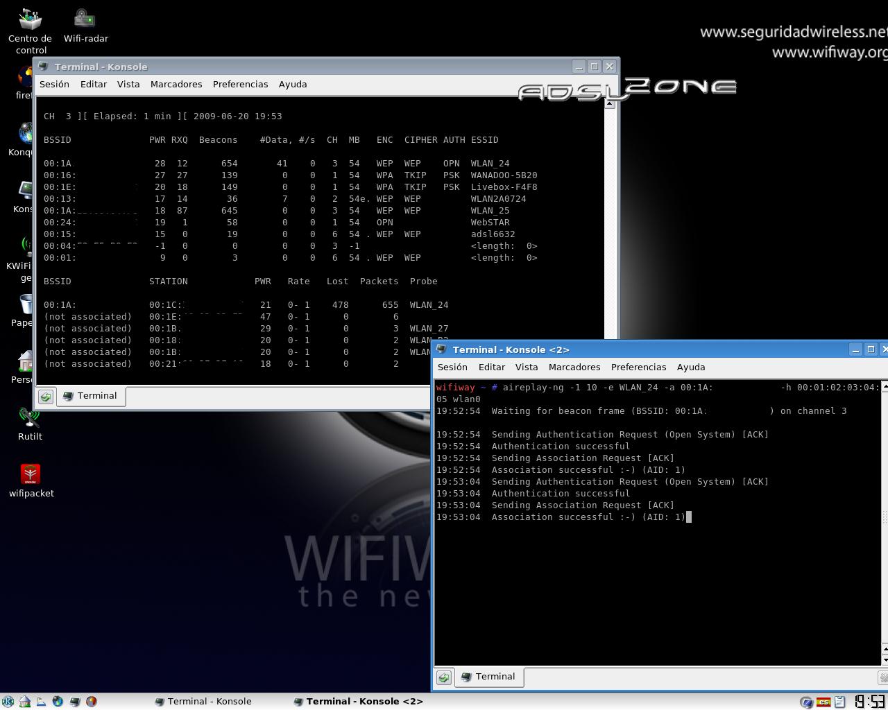 Hacker WiFi Chop Chop