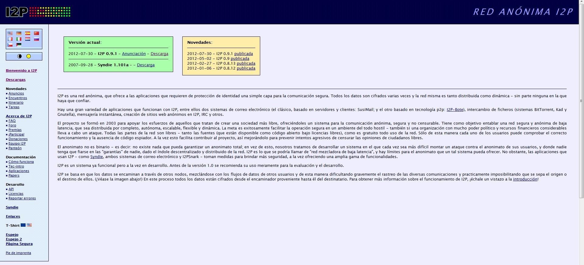I2P: Red segura y anónima para navegar, chatear y descargar