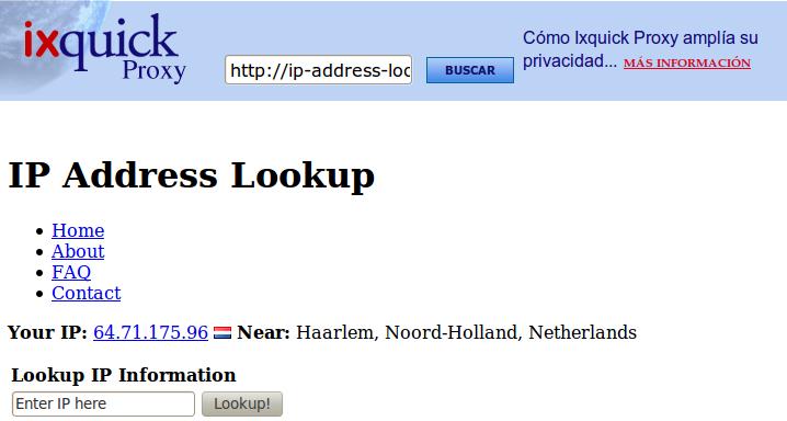 Ixquick Buscador Anonimo