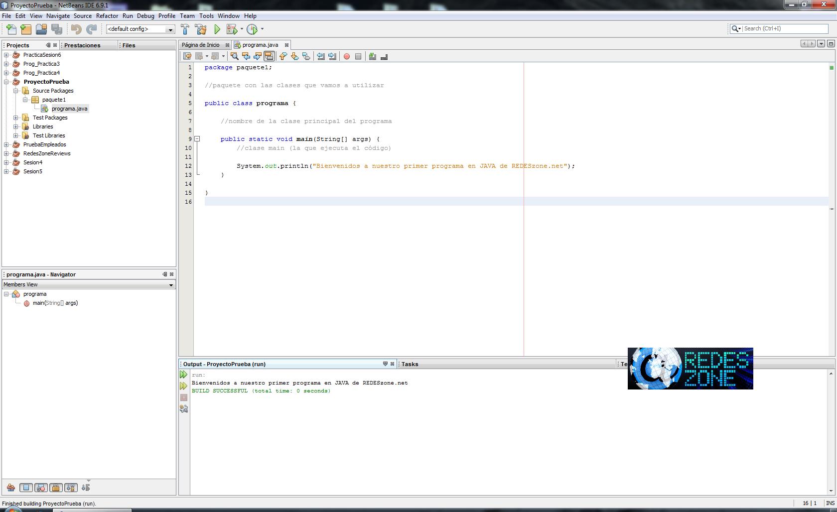 Curso Java Volumen 2 Netbeans