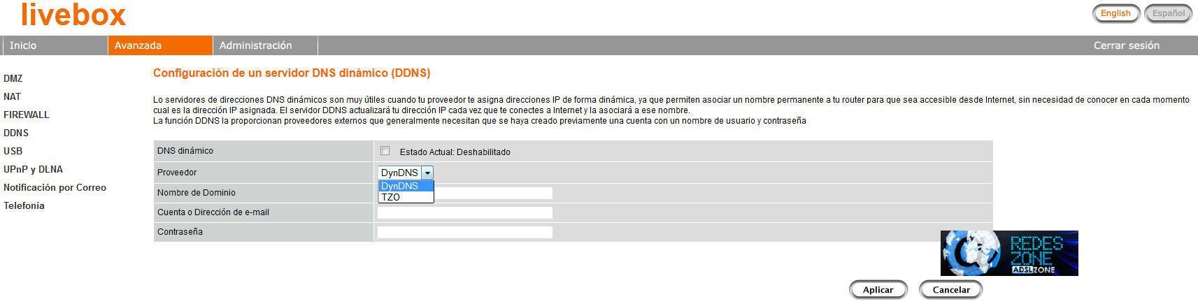 Nuevo router multimedia Livebox: Manual de configuración