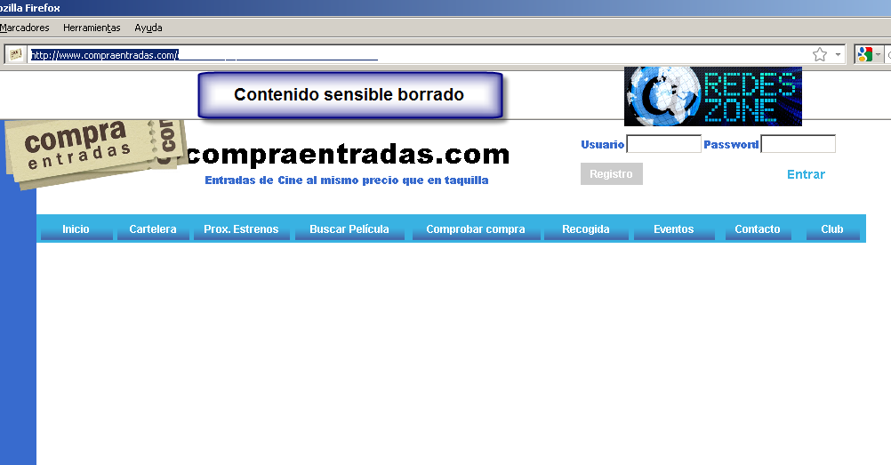 SQL Injection Prueba real