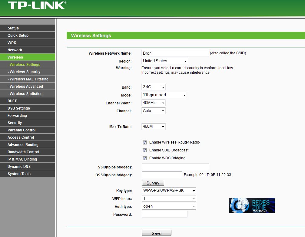 TP-LINK TL-WR2543ND : Manual de configuración